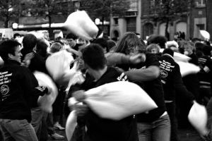 Pillow fight... by 12inch