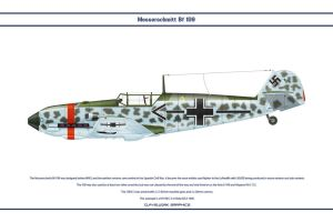 Bf 109 E-3 JG53 1 by WS-Clave