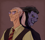 Dr. Pitchiner and Mr. Black by Carnie-Vorex