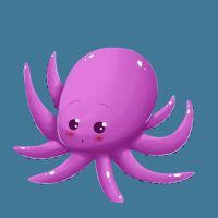 Pictionnary challenge - Octopus by Val-eithel