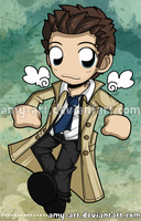 Castiel - Supernatural by amy-art