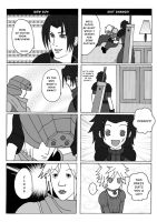 final Fantasy VII 4 koma P5 by knil-maloon