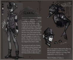 TOXXIC-ref sheet by KlownCat