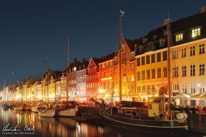 Nyhavn by Nightline