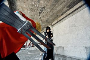 Togainu no Chi-joker vs king by atomzi