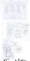 Team Mystery Comic :001: by TerryRose