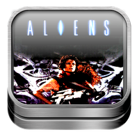 Elevated Icon (Aliens) by SteveRAustin