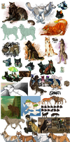 2013 Art Dump by Hlaorith