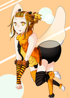 if bees aren't genderless then this one is by Aoiome