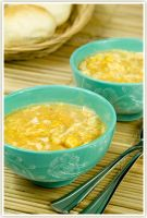 Chicken and sweetcorn soup by shatinn