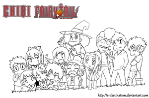 Chibi Fairy Tail by s-destination