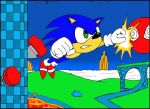 Sonic In the Hilltop Zone by Megamink1997