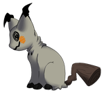 Mimikyuu Poke-Cat Concept by cookie-stalker