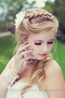 Bride Portrait 2 by Estelle-Photographie