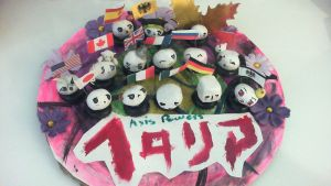 Clay Hetalia Mochis by Mewsol
