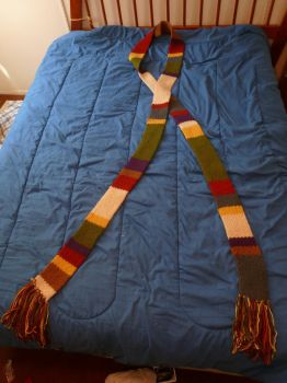 Doctor Who Season 14 loom-knit Scarf by IanM