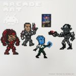 Mass Effect - NES Custom Set by arcade-art
