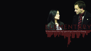 CBS Elementary Wallpaper by lieutenantsubtext