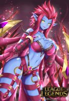 League Of Legends Evelynn by TorahimeMax
