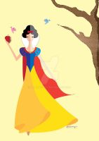 Origami - Snow White by AmadeuxWay