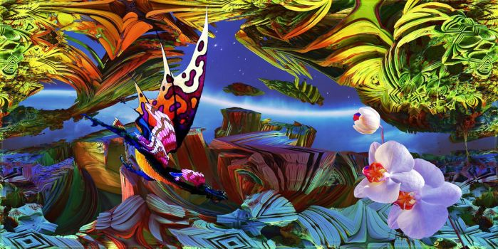 HOMAGE TO ROGER DEAN II by DorianoArt