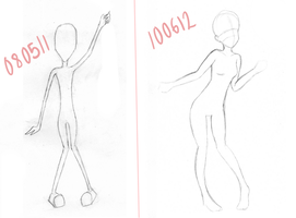 Female anatomy - improvement? by Kawaiishi