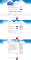 CHStrade air cargo website by fuxxo