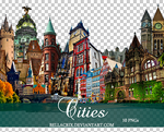 Cities PNGs by Bellacrix