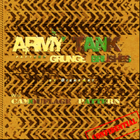 Army Tank Pattern Grunge Brush by DieheArt