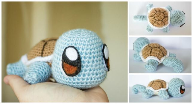 Crochet Baby Squirtle by Nicknie121