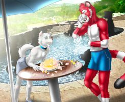 cms40_pool_party by Darkgoose