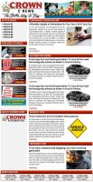 Crown Cars E Newsletter by xstortionist