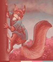 Jess Squirrel #69 by Ski-Machine