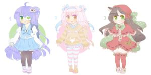 Lolicon Babies Adoptables 4# OPEN by LuciaTan