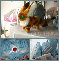 Nausicaa's cosplay process:::::: by Witchiko