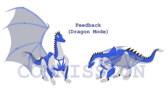 Commission: Feedback Dragon Mode by Ty-Chou