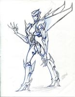 transformers prime oc - Skyfrost by winddragon24