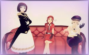 APH: 2p!Axis Girls by thebigblackdevil5