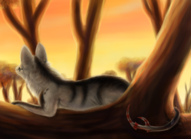 At the End of the Day by animalartist16