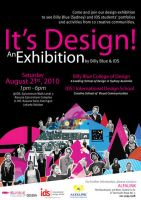Its Design Exhibition Poster by qessjah