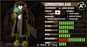 GradeMan.EXE by Higure-san