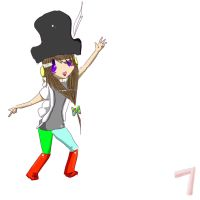 My roblox character. :D by CaptainGiraffy