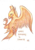 Happy Birthday to Sparria~ by CPoring