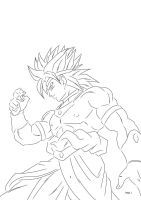 SSJ Broly by darkhawk5