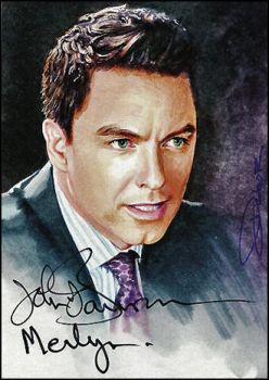 Malcolm Merlyn -autographed by DavidDeb