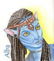 Neytiri film Avatar by lamorghana