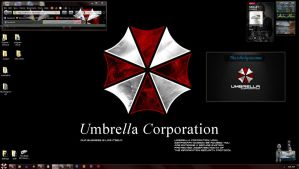 Resident Evil Umbrella Theme by Wilkster07