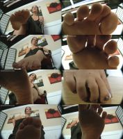 Miss Cissy in Scared Of Your Teachers Feet POV by GiantessFantasy