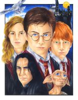 Harry Potter by smlshin