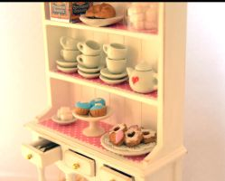Miniature Kitchen Dresser 2 by Alusaf